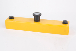 Yellow Painted Shuttering Magnet, Shuttering Magnetic Box for Precast Concrete Formwork System